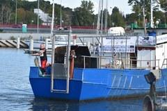 Kołobrzeg: Olbrzymia osłona działa wydobyta z wraku z dna Bałtyku