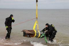 Kołobrzeg: Usuwanie niewybuchów z Bałtyku
