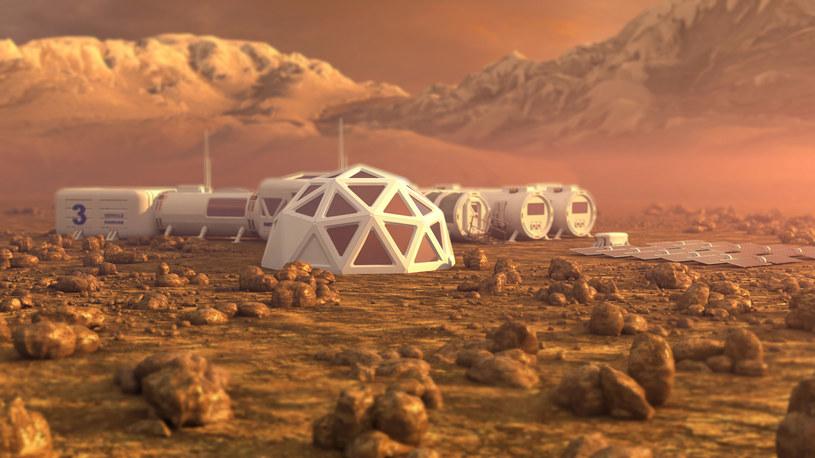 Kolonizacja Marsa jest przyszłością ludzkości /123RF/PICSEL