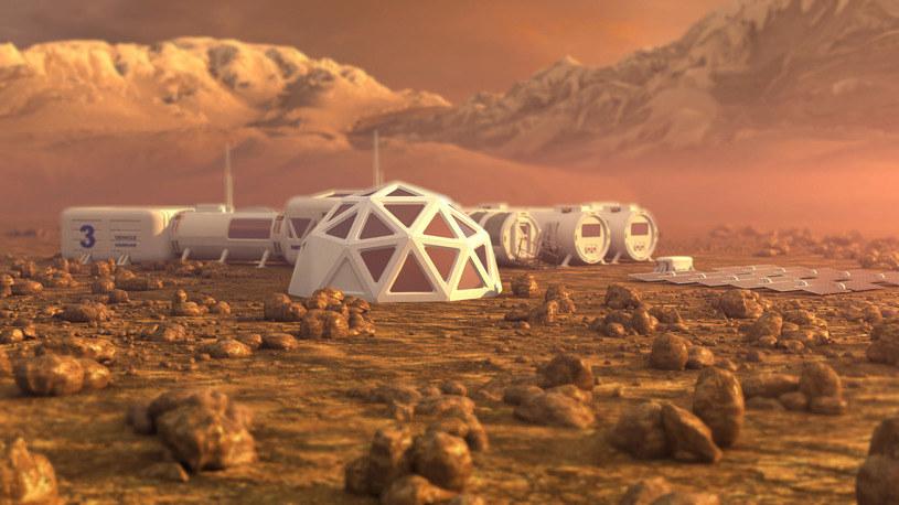 Kolonizacja Marsa wcześniej czy później powinna stać się faktem /123RF/PICSEL