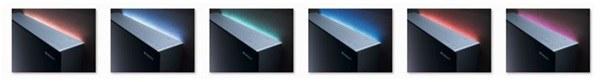 Kolor podświetlenia można dopasować do własnego stylu /materiały promocyjne