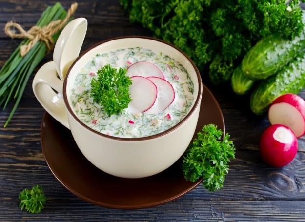 Kolorowe, wiosenne zupy - smakują i odżywiają! /123RF/PICSEL
