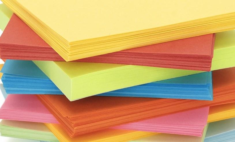 Kolorowy papier /©123RF/PICSEL