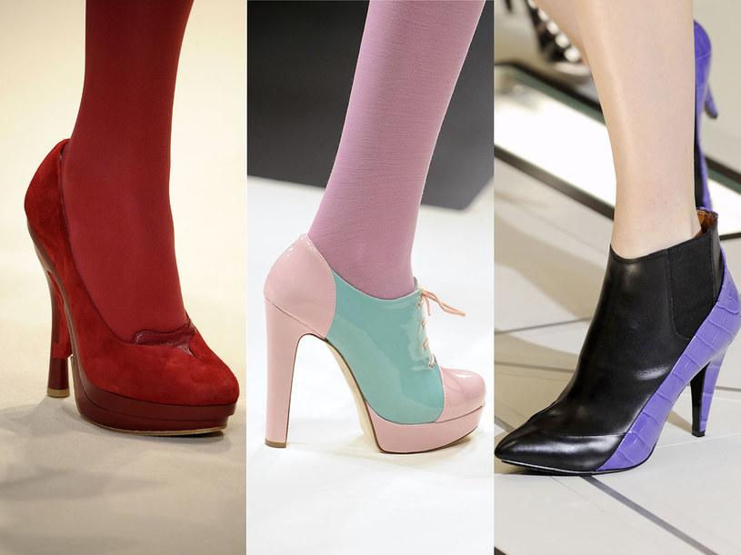 Kolory jesieni: Cacharel, Blugirl, Balenciaga /East News/ Zeppelin