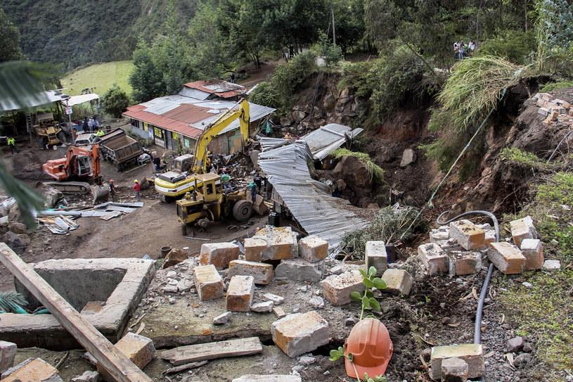 Kolumbia: Dwa silne trzęsienia ziemi / STR   /AFP