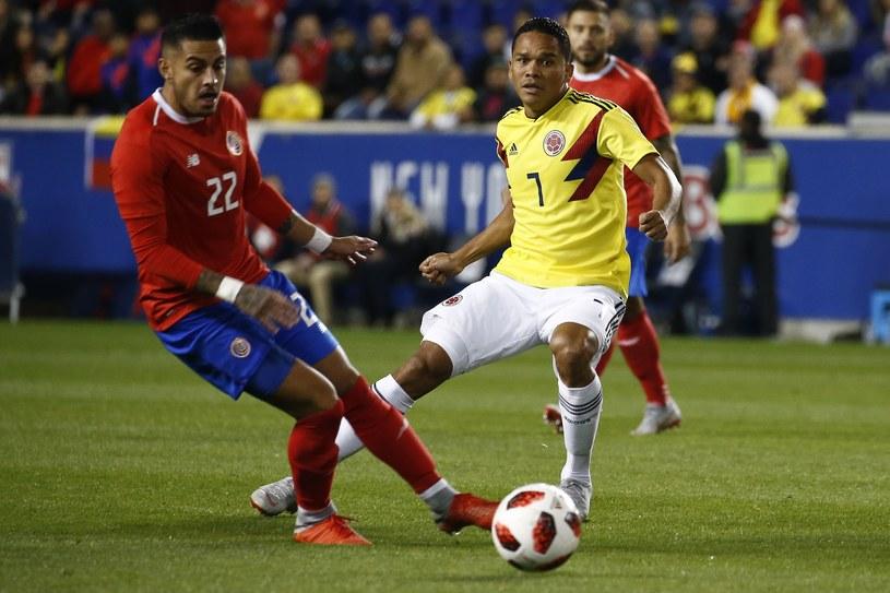 Kolumbia - Kostaryka /AFP