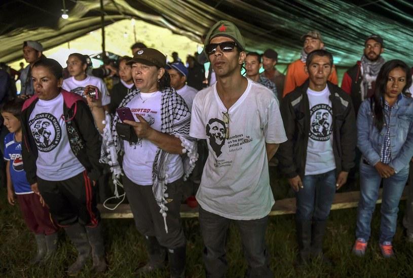 Kolumbijscy partyzanci /AFP