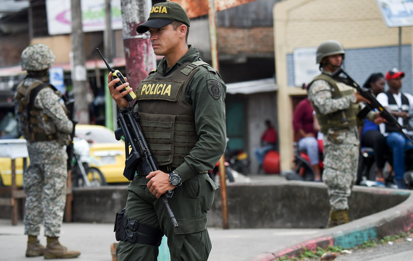 Kolumbijska policja; zdj. ilustracyjne /AFP