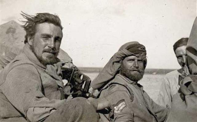 Komandosi SAS na pustyni /Wikimedia Commons /INTERIA.PL/materiały prasowe