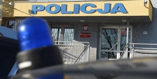 Komenda policji w Kutnie /PAP/Grzegorz Michałowski /PAP