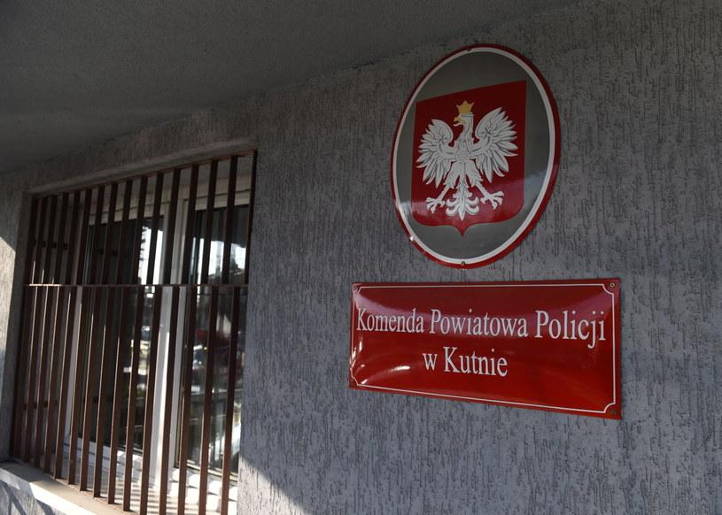 Komenda Powiatowa Policji w Kutnie /Grzegorz Michałowski /PAP