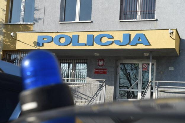 Komenda Powiatowa Policji w Kutnie. /Grzegorz Michałowski /PAP