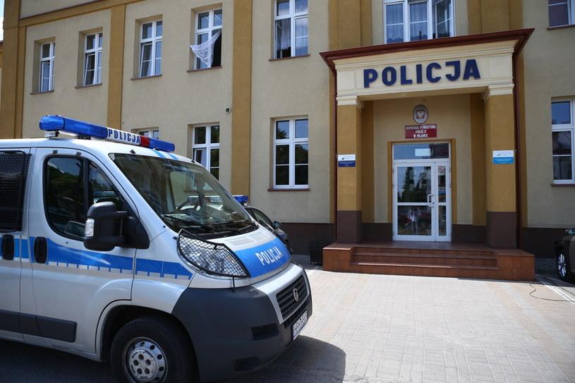 Komenda Powiatowa Policji w Mławie /Marcin Bednarski /PAP