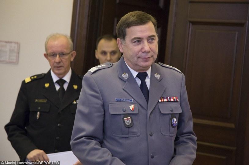 Komendant główny policji gen. insp. Krzysztof Gajewski został odwołany /Maciej Łuczniewski /East News