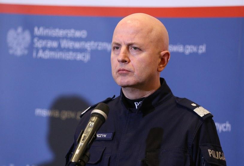 Komendant Główny Policji nadinspektor Jarosław Szymczyk /Mariusz Grzelak /Reporter