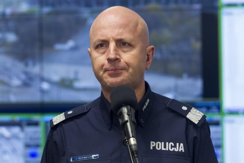 Komendant Główny Policji nadinspektor Jarosław Szymczyk /Wojciech Olkuśnik /East News