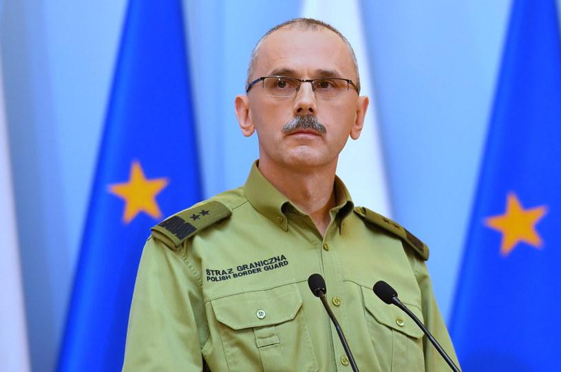 Komendant Gówny Straży Granicznej gen. Tomasz Praga /Piotr Nowak /PAP