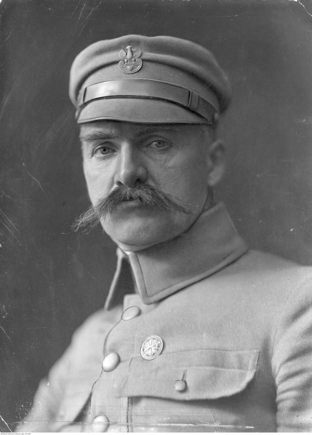 Komendant Józef Piłsudski /Z archiwum Narodowego Archiwum Cyfrowego
