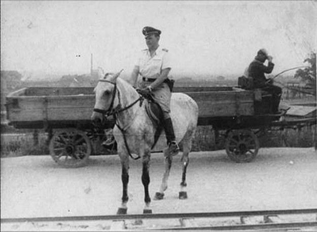 Komendant obozu KL Płaszów Amon Göth /IPN