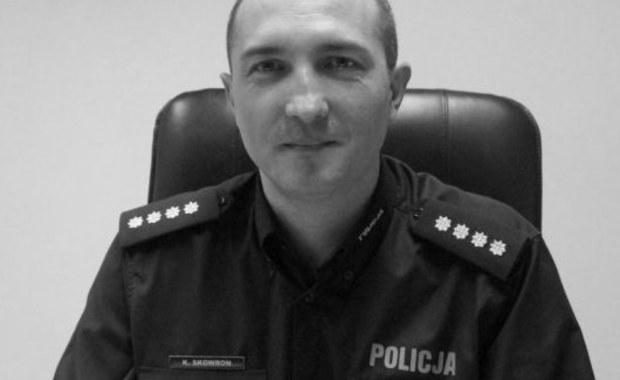Komendant policji w Mikołowie zginął w wypadku