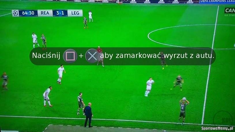 Komentarz do nieudanego autu Hlouseka /Sportowememy.pl /Internet