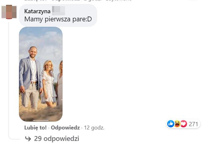"""Komentarz o nowej parze w """"Rolniku"""" wywołał gorącą dyskusję /Facebook"""