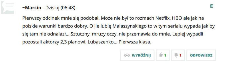 Komentarze czytelników /swiatseriali.pl