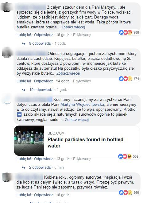 Komentarze pod wpisem Martyny Wojciechowskiej /Facebook /Nostalgia