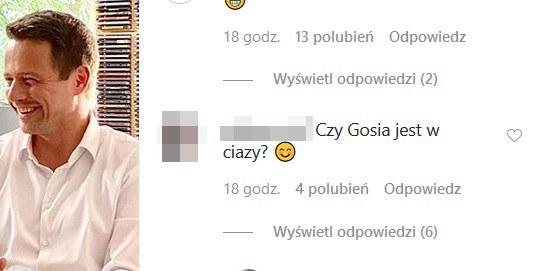 Komentarzy pod postem Trzaskowskiego nie brakuje /materiał zewnętrzny