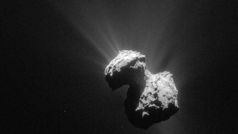 Kometa 67P /materiały prasowe
