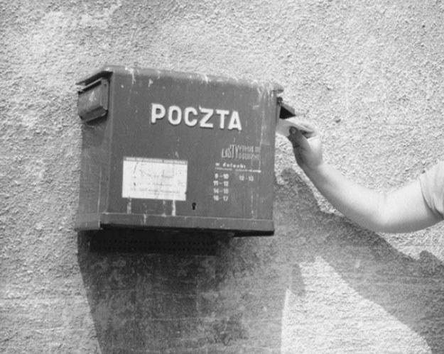 """""""Komiczna pomyłka"""" peerelowskiej poczty /Z archiwum Narodowego Archiwum Cyfrowego"""