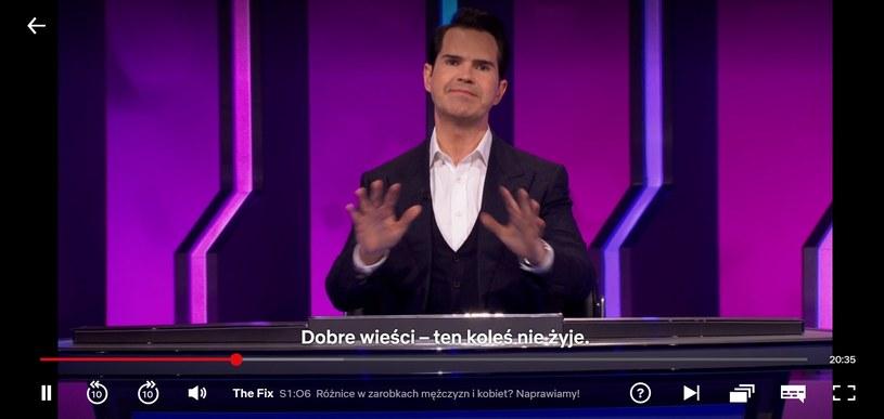 Komik poinformował, że Mikke nie żyje (Screen: netflix.com) /materiał zewnętrzny