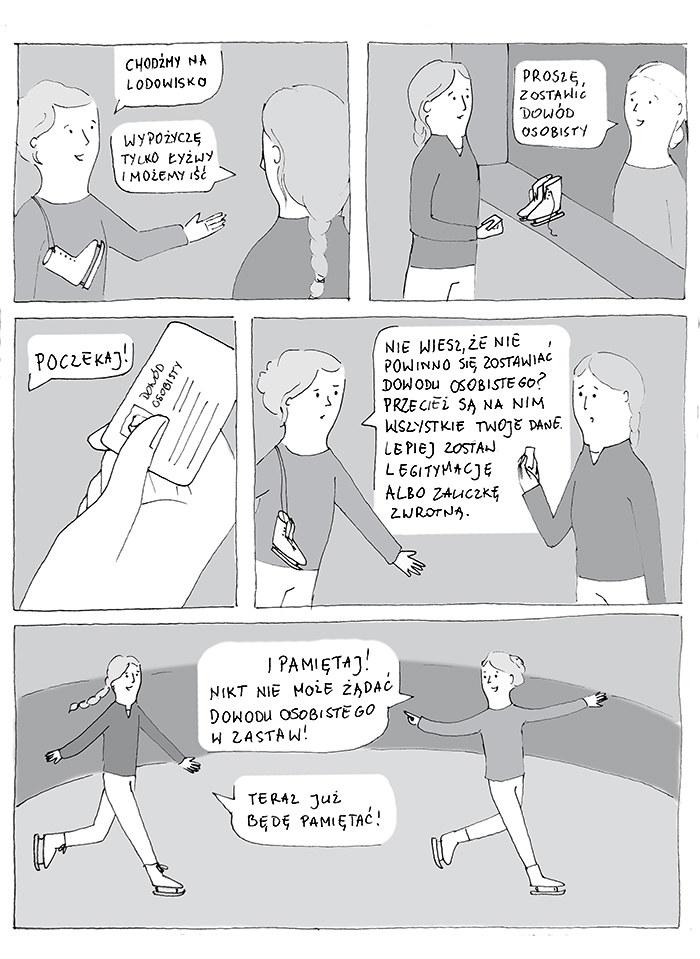 Komiks: Chodźmy na lodowisko /INTERIA.PL