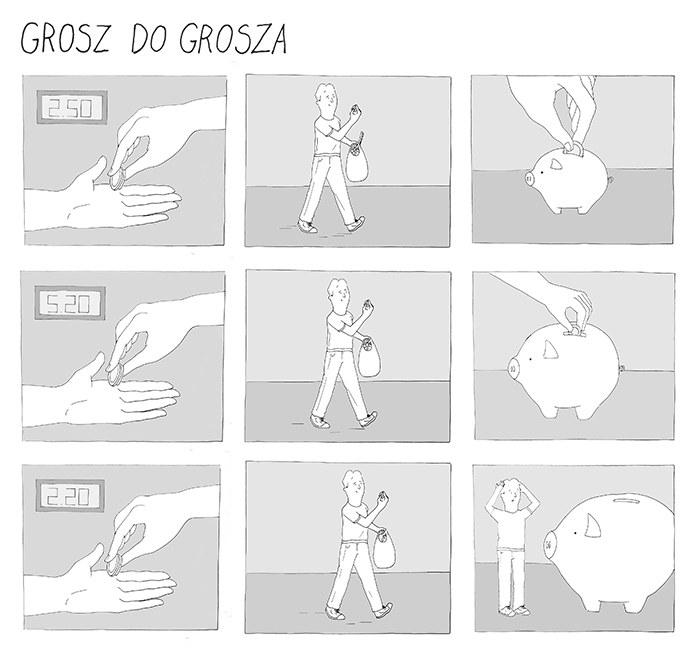 Komiks: Grosz do grosza /INTERIA.PL