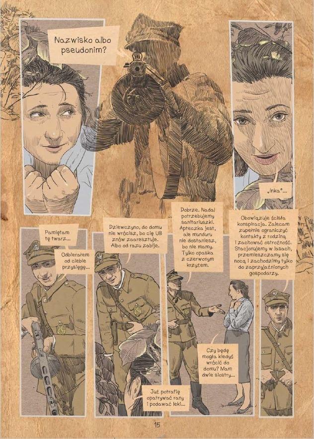 Komiks o Ince - plansza 15 /materiały prasowe