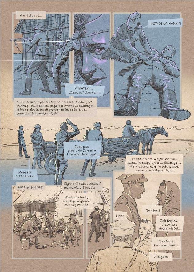 Komiks o Ince - plansza 27 /materiały prasowe