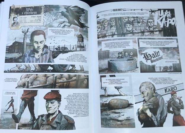 Komiks o więźniach Majdanka /Krzysztof Kot /RMF FM