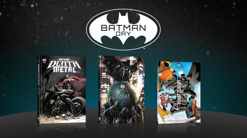 Komiksy na dzień Batmana /materiały prasowe
