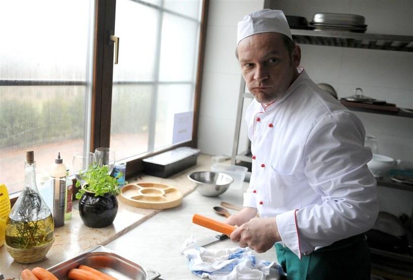 """""""Komisarz Alex"""": Puchała zostanie kucharzem! /Agencja W. Impact"""