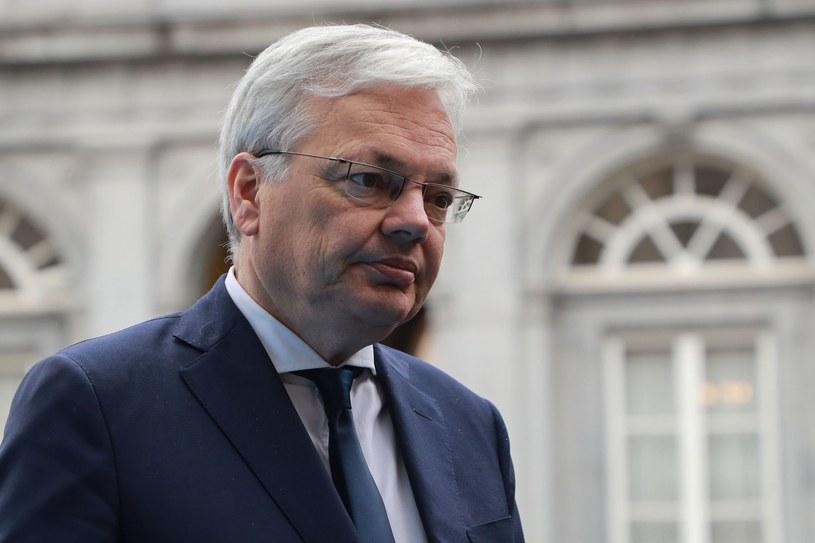 Komisarz Didier Reynders /AFP