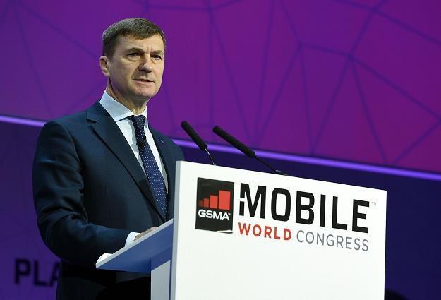 Komisarz do spraw jednolitego rynku cyfrowego Andrus Ansip zapowiada rewolucję cyfrową /AFP