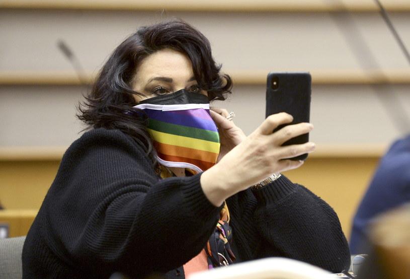 Komisarz ds. równości Helena Dalli w Parlamencie Europejskim /JOHANNA GERON /PAP/EPA