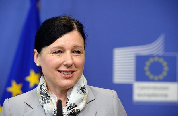 Komisarz ds. sprawiedliwości i konsumentów Vera Jourova /AFP