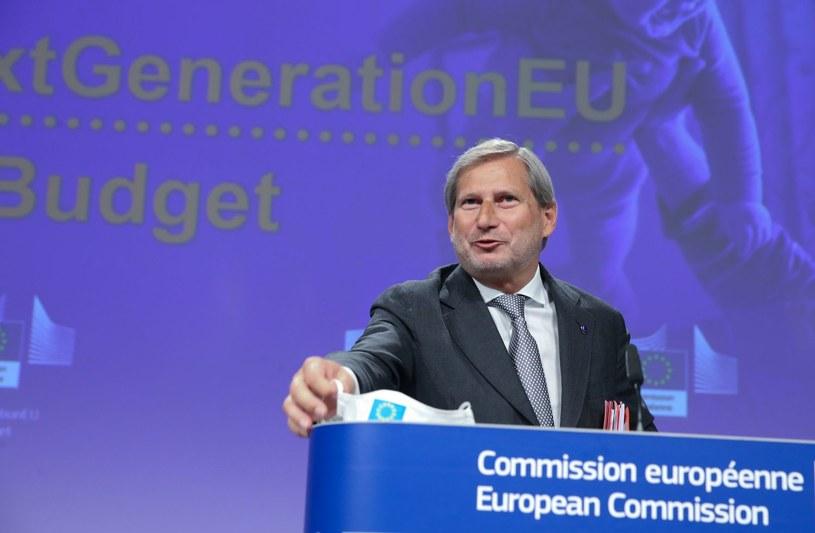 Komisarz Johannes Hahn /FRANCOIS WALSCHAERTS/WAL /AFP