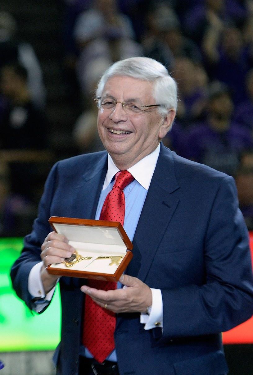 Komisarz koszykarskiej NBA David Stern /AFP