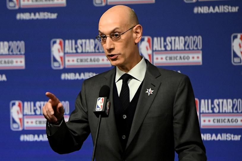 Komisarz NBA Adam Silver /AFP
