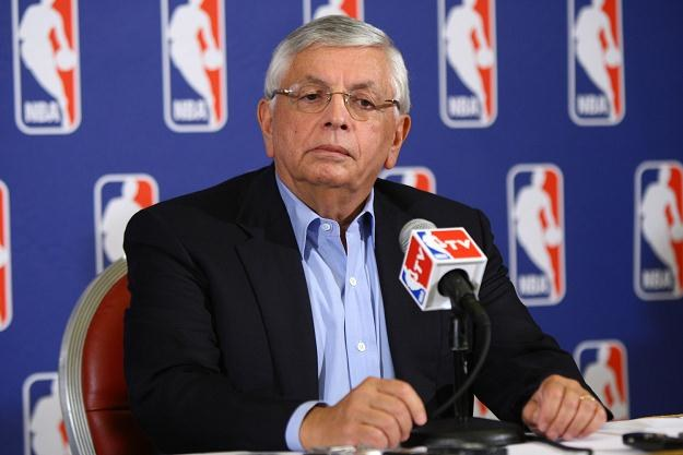 Komisarz NBA David Stern /AFP
