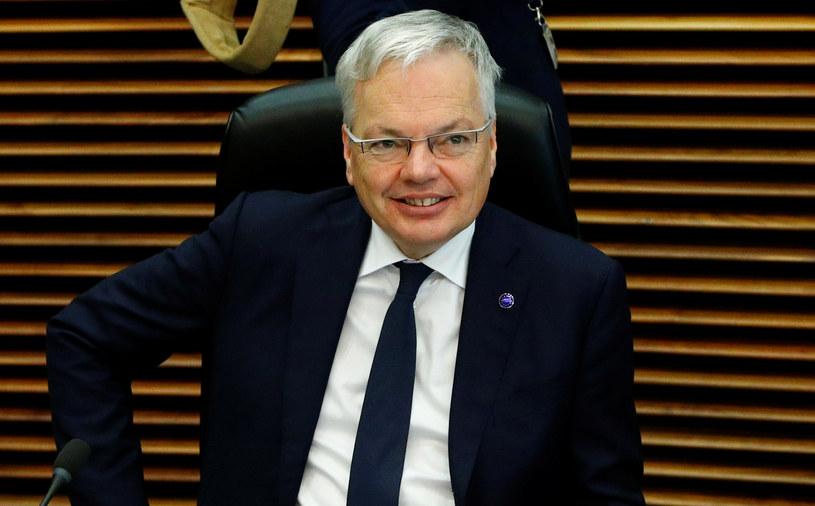 Komisarz sprawiedliwości UE Didier Reynders /FRANCOIS LENOIR /Agencja FORUM