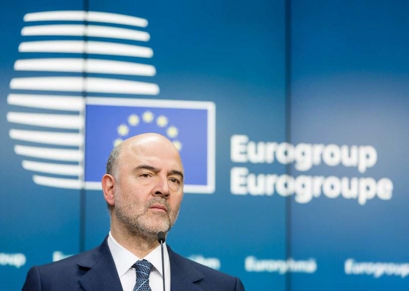 Komisarz UE ds. gospodarczych i finansowych Pierre Moscovici /AFP