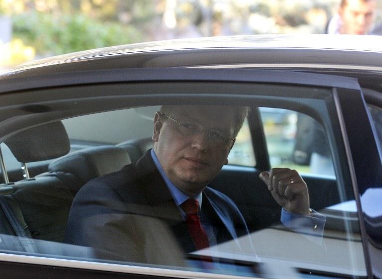 Komisarz UE ds. rozszerzenia i polityki sąsiedztwa Sztefan Fuele /AFP